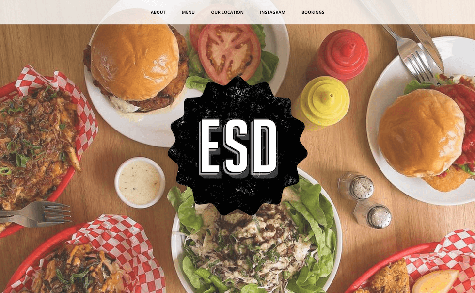 Easy Street Diner website image